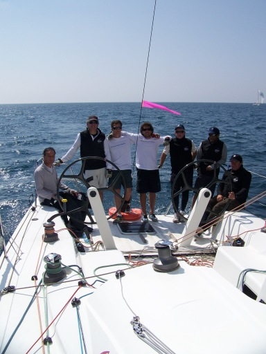 l'équipage du VILLE DE LEUCATE, SNIM 2012